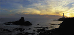 Dusk at Pigeon Point.Thumbnail